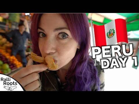 Welcome To Peru! | Food Tour & Fun: Day 1
