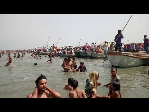 Amazing View of Ganga Maiyya from boat, Ghatiya Ghat, Farrukhabad