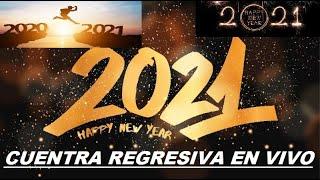 Cuenta REGRESIVA para AÑO NUEVO 2021 Mexico, Costa Rica, Guatemala, Honduras, Año Nuevo 2021 en vivo