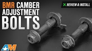 2015 2017 mustang bmr camber adjustment bolts front review