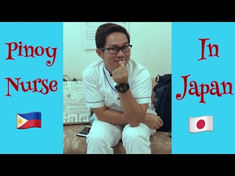 Pinoy Nurse In Japan- Going To Work