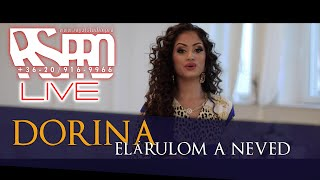 DORINA 2020 -  Elárulom a neved - OFFICIAL ROYAL LIVE VIDEO /// DIANA & STEPHEN WEDDING