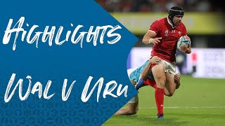 Highlights: Wales v Uruguay - Rugby World Cup 2019