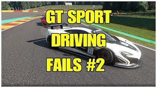 Gran Turismo Sport Fails Compilation #2
