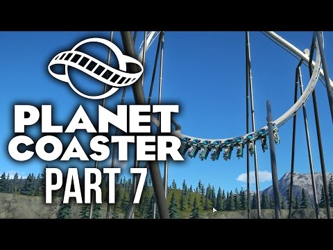 Planet Coaster Gameplay Walkthrough Part 7 - BIG CHANGES & NEW ROLLERCOASTER