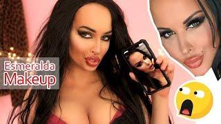ESMERALDA siostra GODLEWSKA MAKIJAŻ  - Celebrity makeup #6