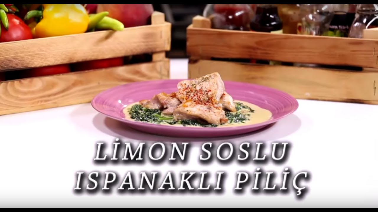 Limon Soslu Ispanak