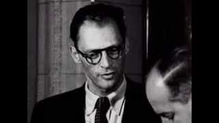 Arthur Miller Announcing He Will Be Marrying Marilyn Monroe June 21st 1956