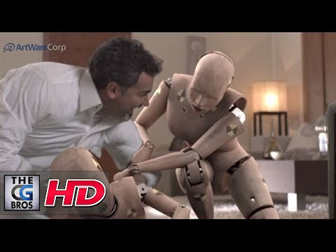"CGI VFX Animated Shorts : ""The Dummies"" - by ArtWareCorp"