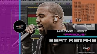 """➢ Chopping Samples: Like Kanye West """"Famous"""" Beat Remake In Logic Pro X DailyHeatChecc"""