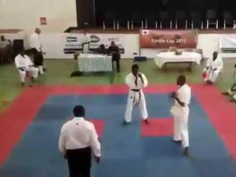 Kyokushin Zambia Phillimon vs ndola