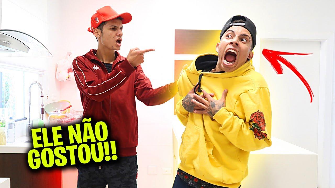 PEDI MEU AMIGO EM NAMORO E ELE FICOU REVOLTADO!!