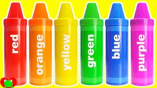 LEARN COLORS with Learning Resources Crayons Sorting Surprises