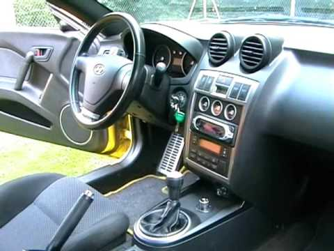 Hyundai Coup 233 Tiburon Tuscani 2003 Video Youtube