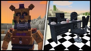 - FNAF in MINECRAFT Mod Showcase