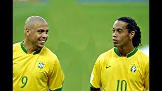 عندما كان منتخب البرازيل لا يرحم .... اه اه يا زمان  !!