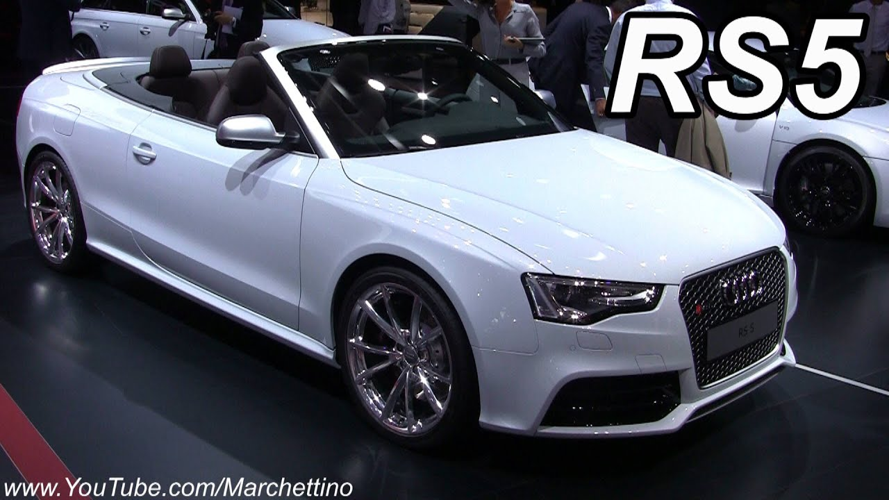 2013 Audi Rs5 Convertible In Detail Youtube