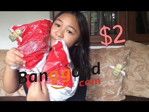 SQUISHY CUMA 2 DOLLAR?! || UNBOXING Banggood.com