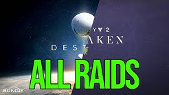 Every Destiny 1 & Destiny 2 Raid Back-To-Back, In Order [Uncut Footage]