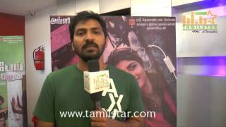 Vaibhav At Hello Naan Pei Pesuren Movie Team Interview
