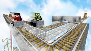 DUBBELE RACEBAAN! - Minecraft Survival #237