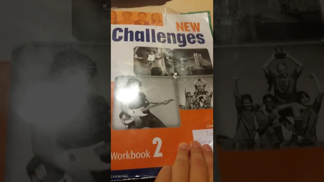 Workbook challenges гдз new 4 на