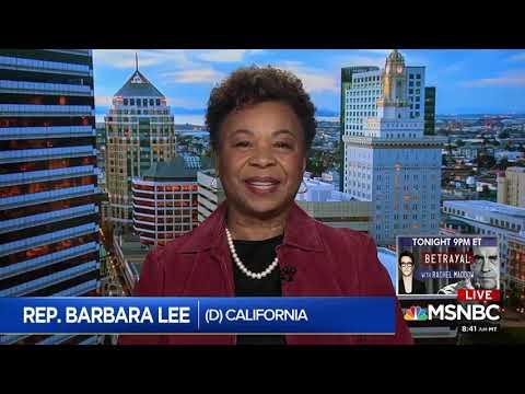 Rep Barbara Lee Discusses Women of Color in Politics on AM Joy