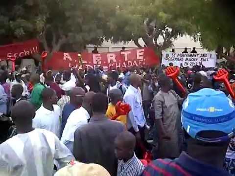 Le peuple dit NON  à la violation de la constitution sénégalaise