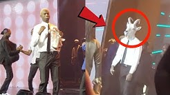 WOW: Joey B Came On Stage In a Goat Mask, Enjoy La Meme Gang Thrilling Performance At 4syte Awards