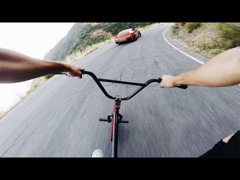 INTENSE BMX vs GTR HILL BOMB - FULL SPEED *NO BRAKES*