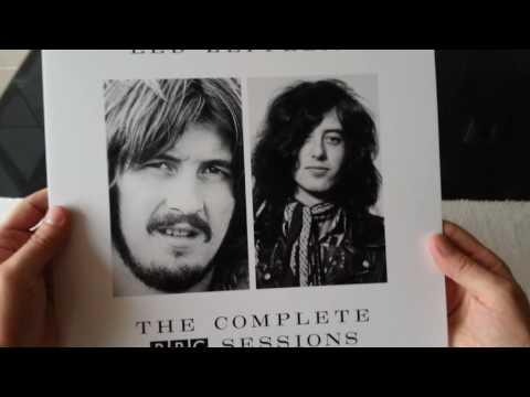 Led Zeppelin - The Complete BBC Sessions 2016 Super Deluxe Edition Box Set - Unboxing