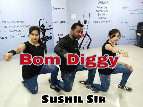Bom Diggy Dance Cover By Sushil Sir