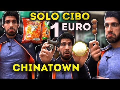 MANGIARE CON SOLO 1€ A CHINATOWN (a milano)