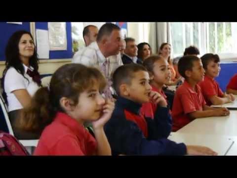 Dipkarpaz İlkokulu'ndaki Yaratıcı Okuma Çalışmaları
