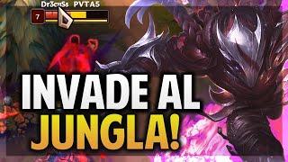 ¡NO DEJO FARMEAR AL JUNGLA! | TALON MID | League of Legends