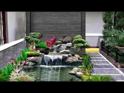 Taman Rumah Minimalis 2018 Youtube