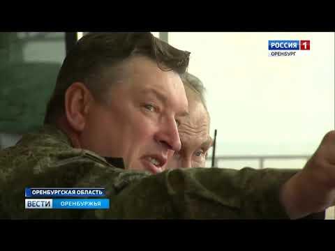 Владимир Путин работает на полигоне «Донгуз»