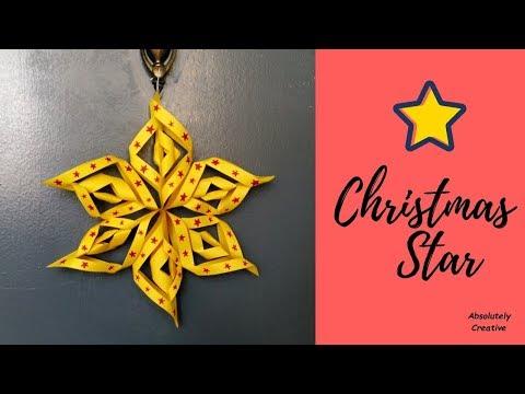Christmas Star / Door hanging / Wall hanging