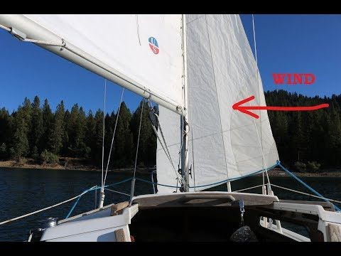 'Heave To' to be Hove to- Catalina 22