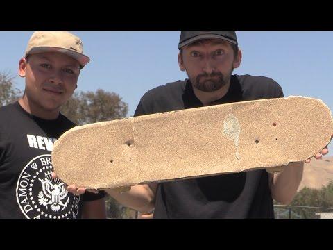 SAND PAPER GRIP TAPE | STUPID SKATE EP 70