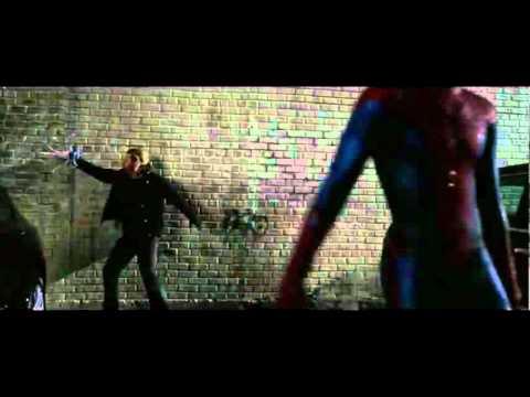 amazing spiderman car thief full scene