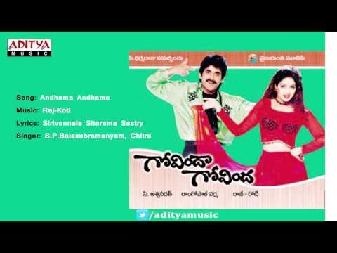 Govinda Govinda Telugu Movie | Andhama Andhama Full Song | Nagarjuna, Sridevi