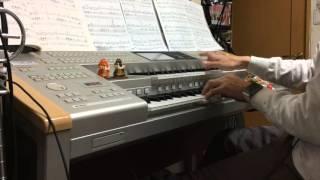 渡辺美里さんの「My Revolution」も元気の出る曲の代表として弾いてみま...