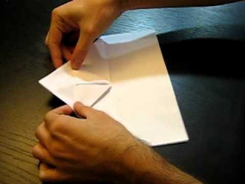 Como hacer el mejor avion de papel facil vuelo acrob tico - Como hacer un estor enrollable paso a paso ...