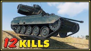 AMX 13 105 - 12 Kills - World of Tanks Gameplay