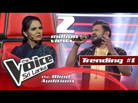 Roy Jackson - Uyire Uyire | Blind Auditions | The Voice Sri Lanka