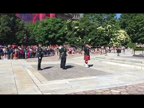 Changing of the Guard, National War Memorial, Ottawa, Ontario, Canada