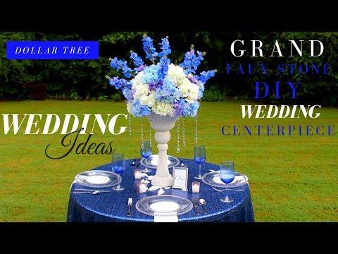 ELEGANT DIY Wedding Decor | Dollar Tree DIY Wedding Centerpiece