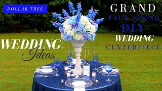 ELEGANT DIY Wedding Decor | Dollar Tree DIY Wedding Centerpiece