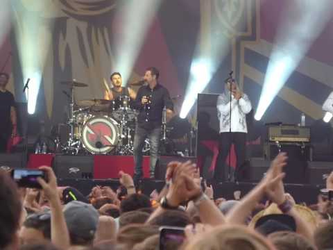 PROPHETS OF RAGE  Like a Stone Audioslave cover Vocals  Serj Tankian SOAD  3 6 2017 Nürnberg Zeppeli